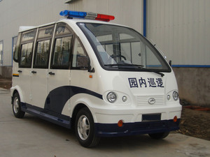6-8座封闭巡逻警车[CAR-XL6FB-WHL]
